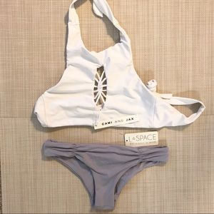 Cami and Jax top and Lspace bottom bikini set